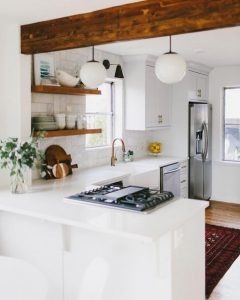 ... Add A Stylish Peninsular To Help Separate Spaces. Plus Youu0027ll Be  Tapping Into To This Yearu0027s Most Stylish Interior Design Trend: Broken Plan  Living.